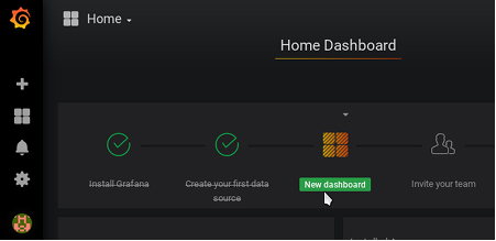 home dashboard